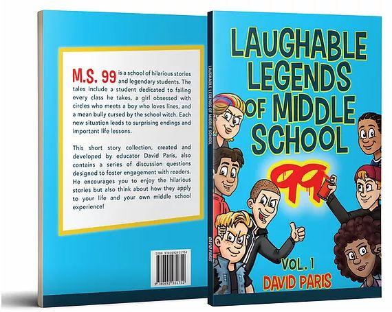 Laughable Legends - full cover - David Paris