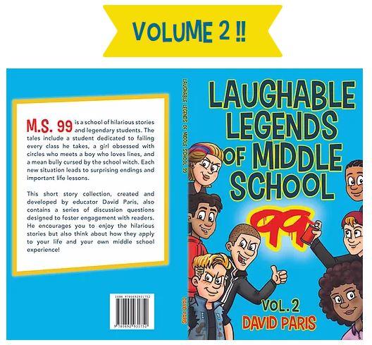 Laughable Legends - full cover Volume 2 - David Paris